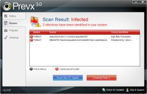 prevx netprotocol netprotdrvss detected