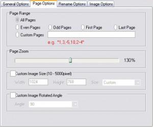 PDF-to-image-converter - масштаб, размеры, страницы