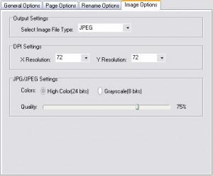 PDF to image converter - формат картинки, сжатие.