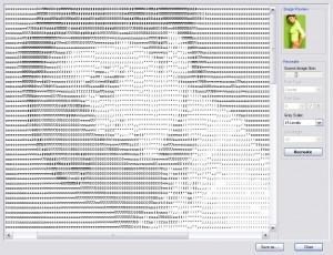 Текстовые - символьные картинки - генератор.