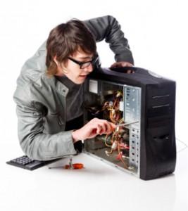 Сборка компьютеров.