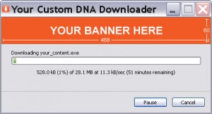 BitTorrent DNA.