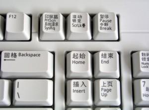 Китайская клавиатура.