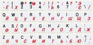 Русские буквы на клавиатуру.
